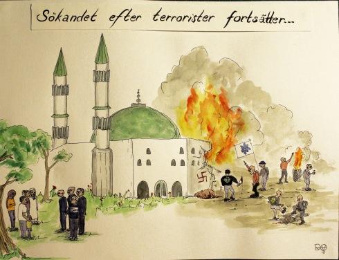 Sökandet efter terrorister